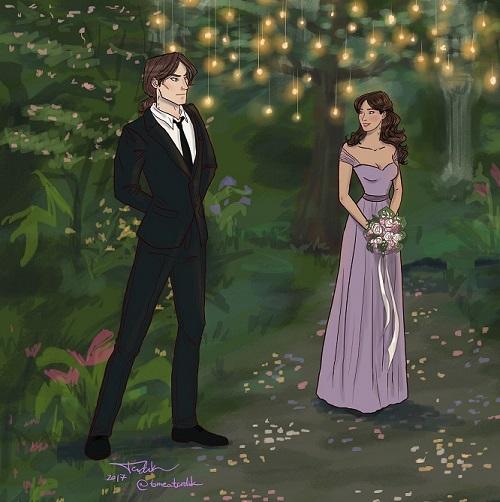 Indigo spell wedding