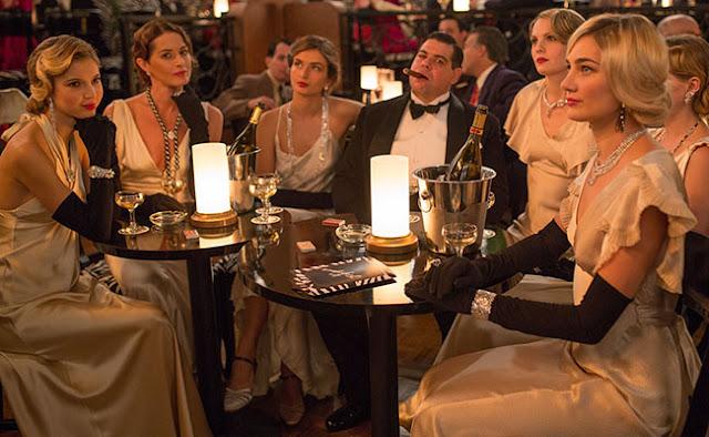 Café Society vestido festa anos 30, figurino filme