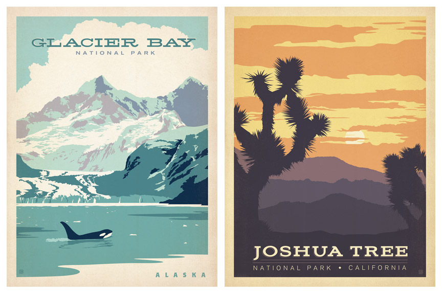 Anderson Design Group: Blog: NEW Vintage Travel Posters!