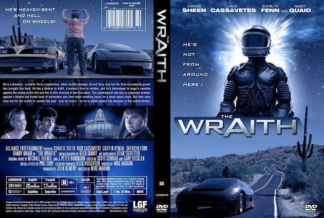 The Wraith DVD Cover