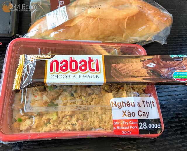 Vietnam familymart box lunch Bento2