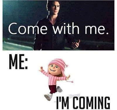Damon Come With Me meme
