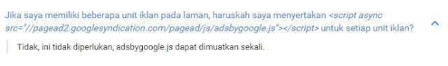 google adsense tentang unit iklan asinkron