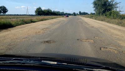 Drogi w Odessie Ukraina
