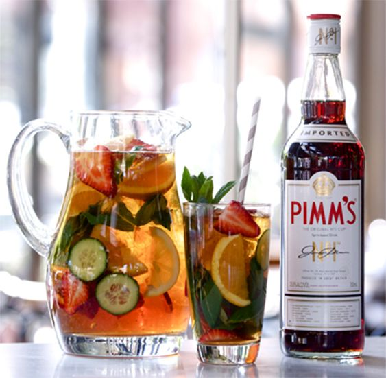 Pimms, summer, summer cocktails, British