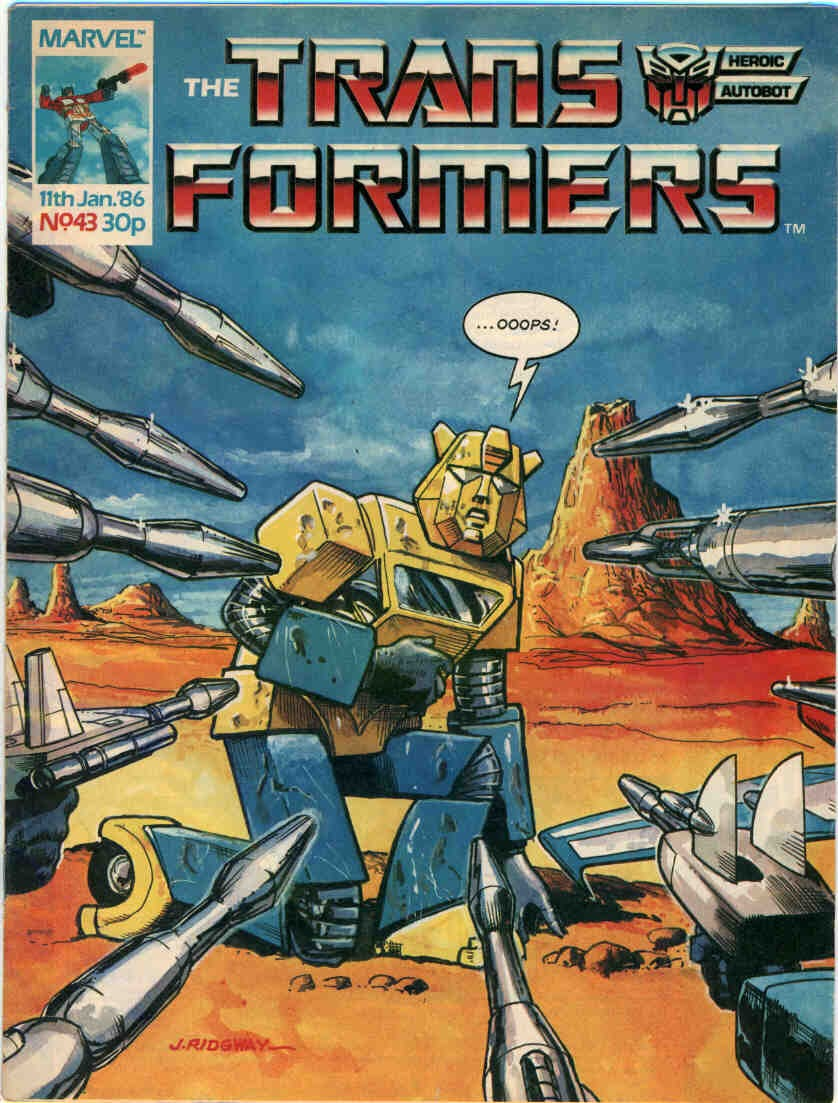 The Transformers (UK) 43 Page 1