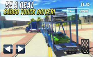 Game Car Cargo Transport Driver 3D App