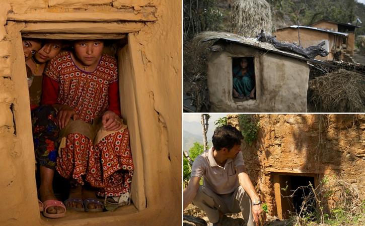 Resultado de imagem para O Ritual Chhaupadi: O Cruel, Perverso e Mortal Isolamento Mensal de Mulheres que é Praticado há Séculos no Nepal