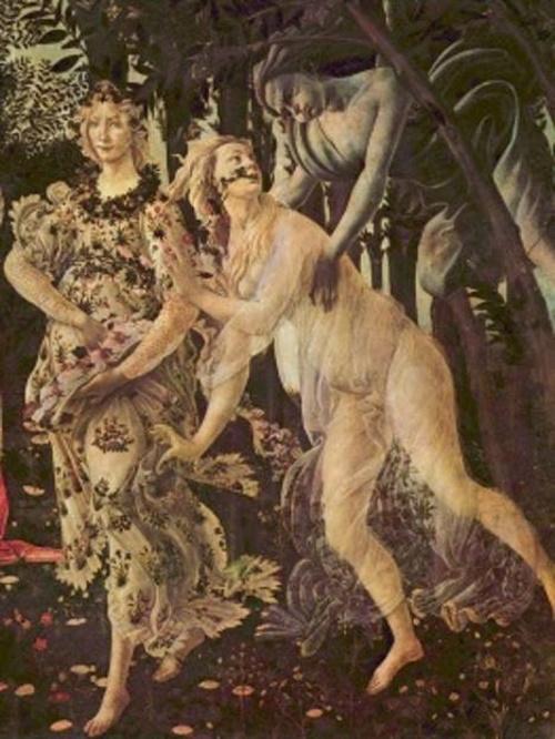 Alegoria da primavera, pintura de Sandro Botticelli.