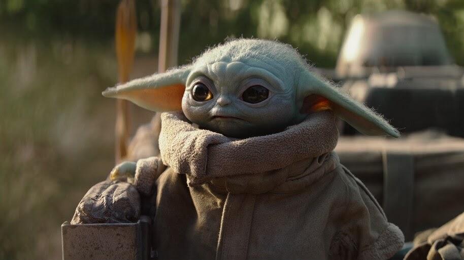 Baby Yoda The Mandalorian 4K Wallpaper #7.450
