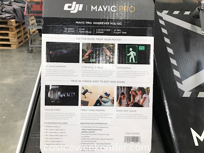 Costco 1125659 - Get a bird's eye view with the DJI Mavic Pro drone