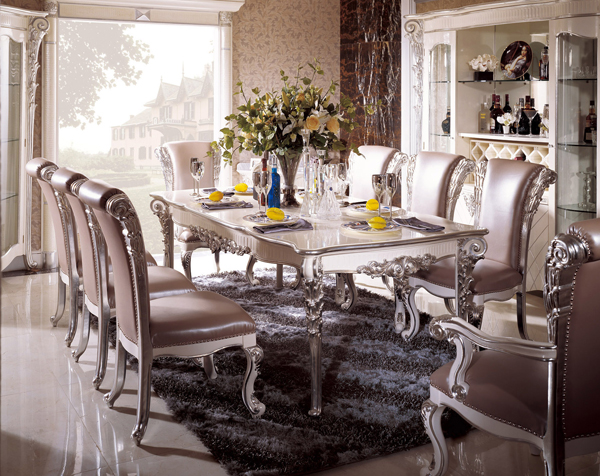 Interior Design Luxury Italian Style Dining Room Sets