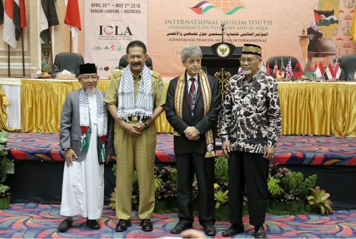 Pemprov Lampung dan Kedubes Palestina Sambut Baik Terselenggaranya Konferensi Pemuda Muslim Internasional