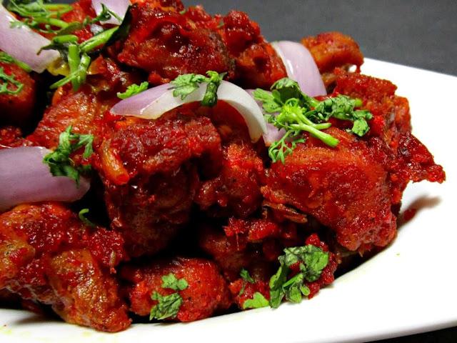 indo chinese recipe chicken 65