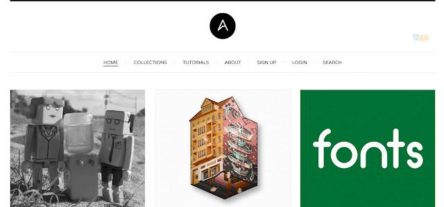 blog, website, situs desain grafis, graphic designer, terbaik, populer