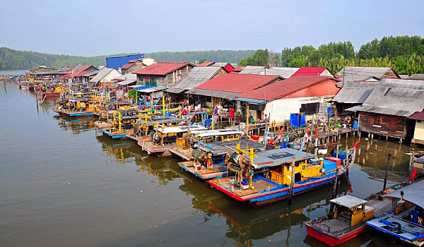 Fishing Village Sekinchan