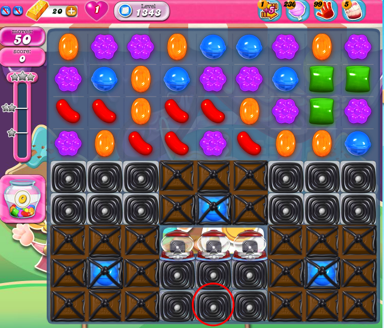 Candy Crush Saga 1343