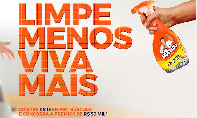 "Promoção: ""Mr. Músculo"""
