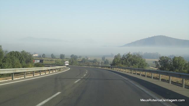Nevoeiro no Valle de Casablanca