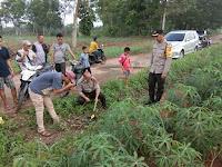 Kapolres Lampung Utara Turun Langsung Evakuasi Penemuan Mayat yang Gegerkan Warga