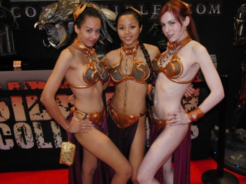 slave girls costumes from return of the jedi