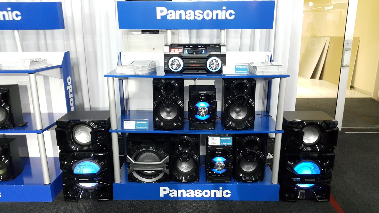 Panasonic speakers and entertainment system