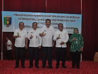 Pemprov Lampung Terapkan SAKIP Bersama Pemkab Lamsel dan Way Kanan