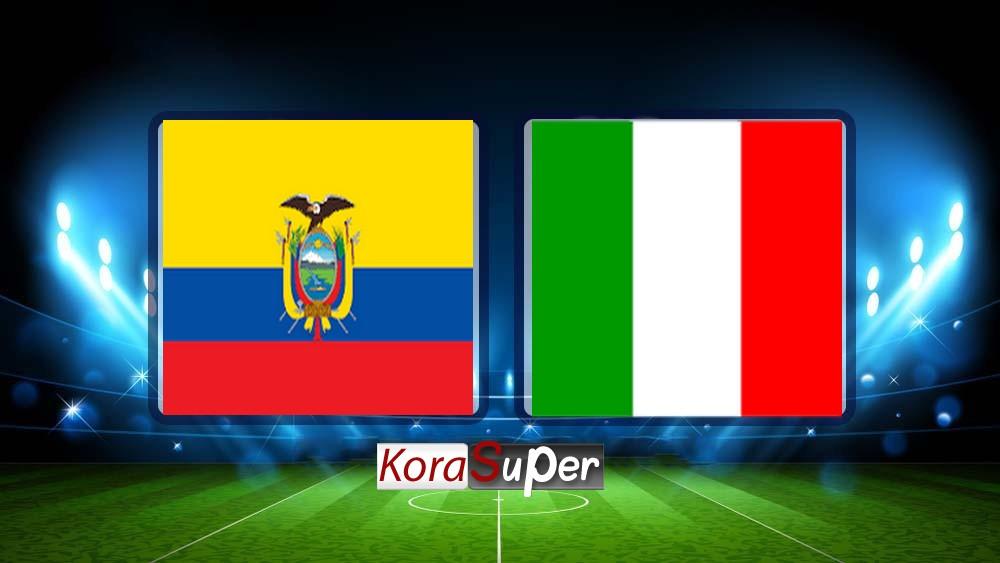 اليوم مشاهدة مباراة  والإكوادور بث مباشر 14-06-2019 الجمعة