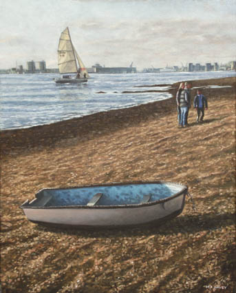 boats at southampton_weston_shore
