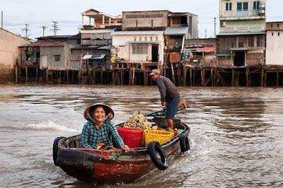 Chợ nổi Cái Răng – Cần Thơ – Một nét đẹp đặc trăng của miền song nước