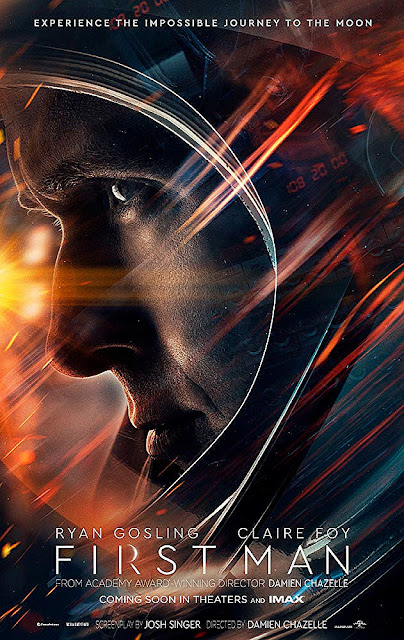 Sinopsis Film First Man (2018) - Ryan Gosling, Claire Foy