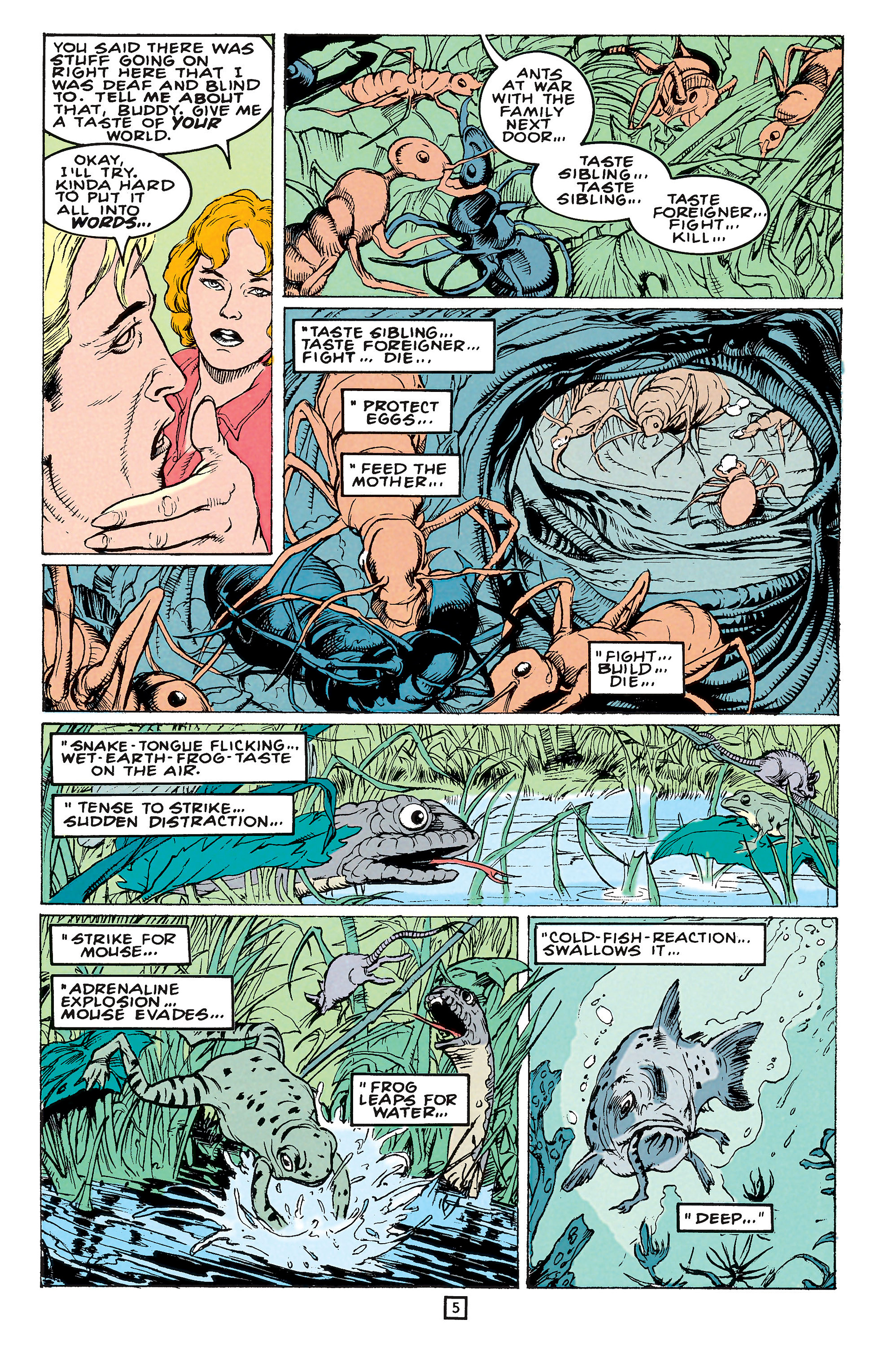 Read online Animal Man (1988) comic -  Issue #65 - 5