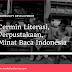 Cermin Literasi, Perpustakaan, Minat Baca Indonesia