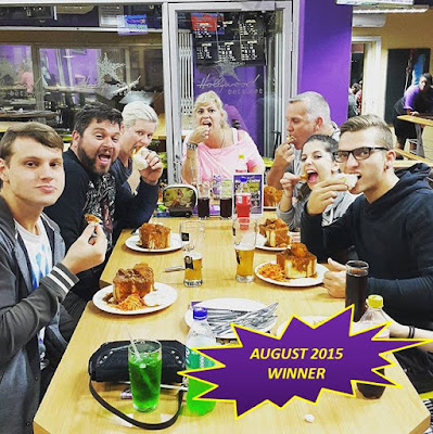 Hollywoodbets Bunny Chow Competition Winner - August 2015 - @Calevdb