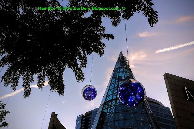 Christmas Light Up, Wheelock Place, Orchard Road, Singapore