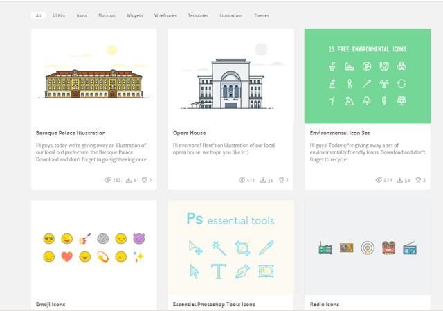 أفضل موقع لتحميل القوالب والأيقونات والتصميم والشعارات