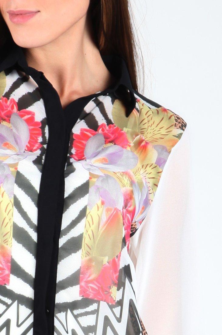 Camisa manga longa feminina