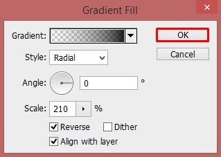 Cara Membuat Backgroud Gradasi (Shadow) di Photoshop 17