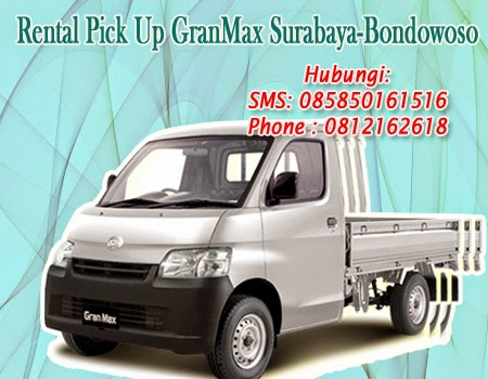 Rental Pick Up Grandmax Surabaya-Bondowoso