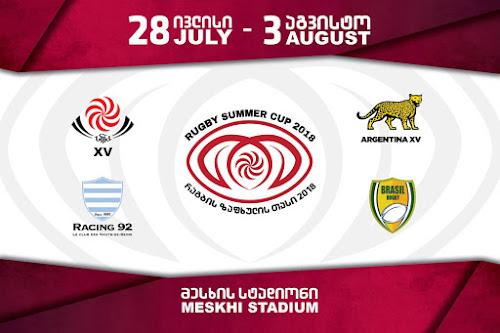 Summer Rugby Cup, nuevo desafío para Argentina XV