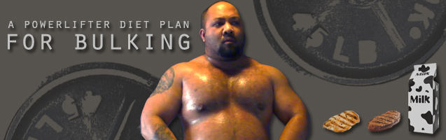 Powerlifter: A Powerlifter Diet Plan For Bulking