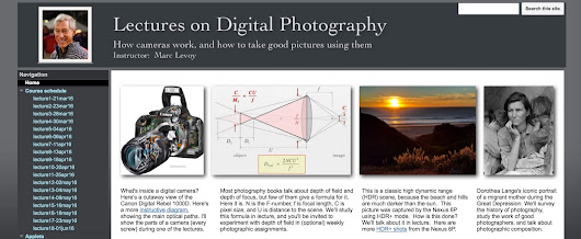 Free Digital Photography Course From a Stanford Professor