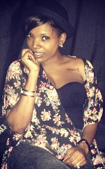 annie idibia returns to nigeria