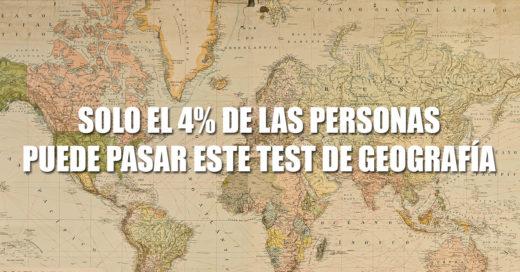 El 96% de las personas no pasa este test sobre geografía