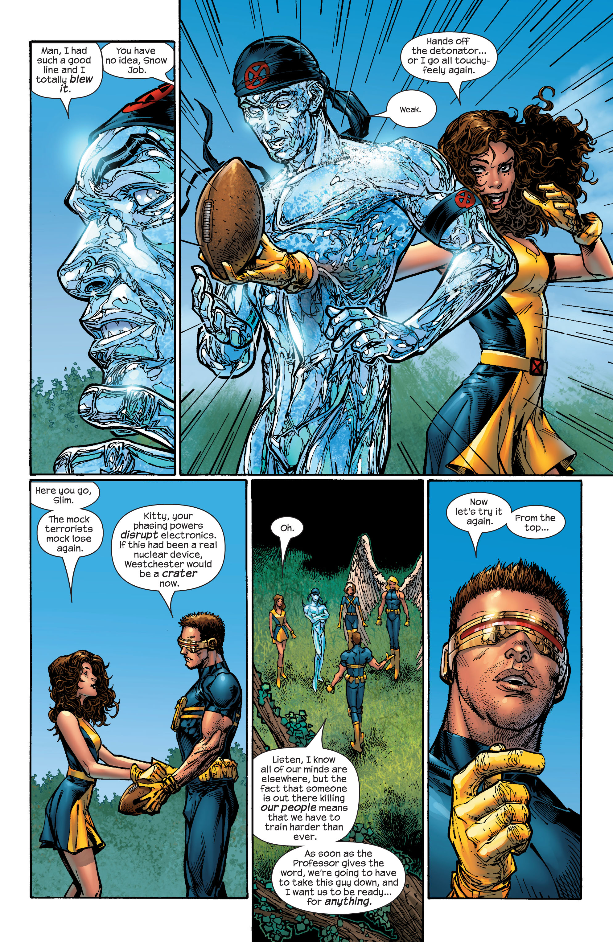 Read online Ultimate X-Men comic -  Issue #47 - 14