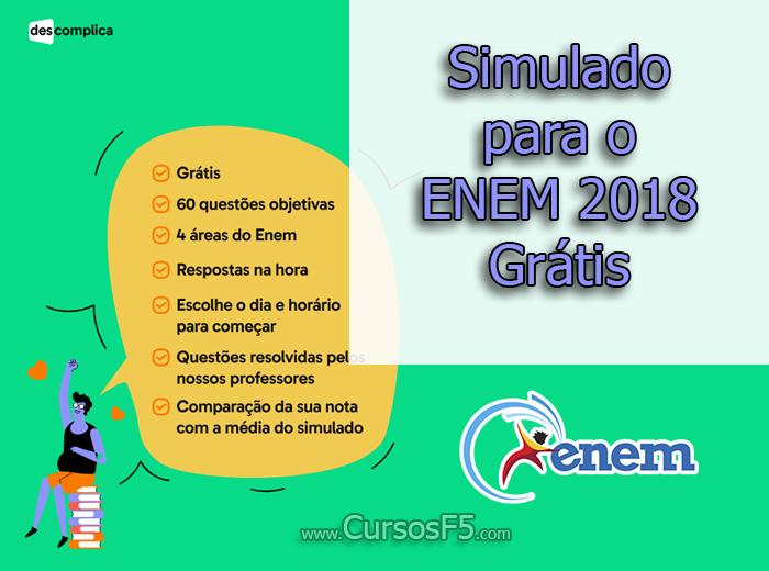 Simulado para o ENEM 2018 Grátis | Provas do ENEM 2018 Online