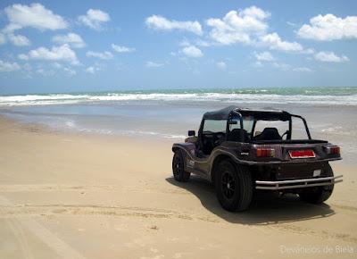 Passeio de buggy nas dunas de Natal