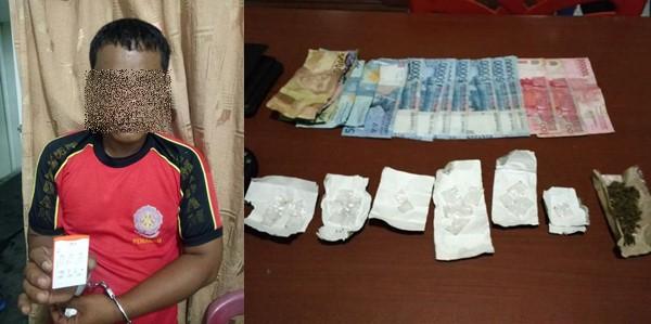 Nyambi Edarkan Shabu, Oknum Damkar Pariaman Diciduk Polisi