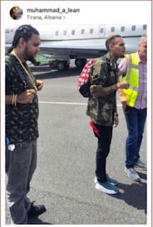 Chris Brown and drug dealer