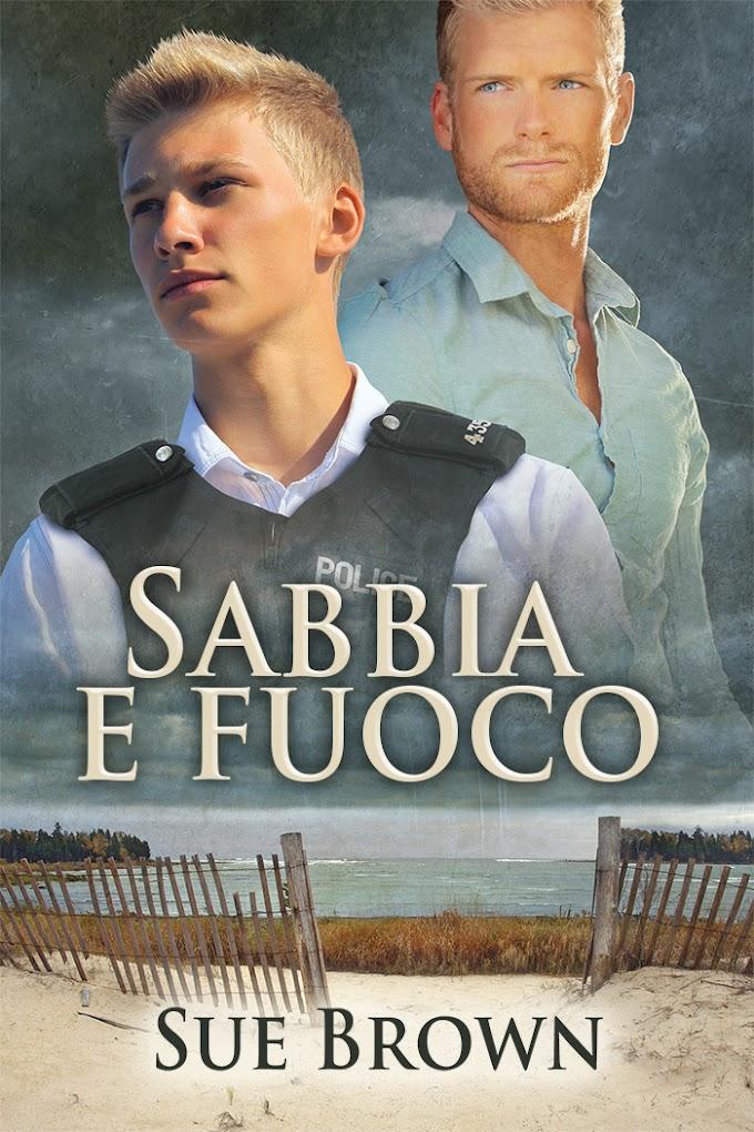 """Libri in uscita: """"Sabbia e Fuoco"""" (Serie Sull'Isola di Wight #2) di Sue Brown"""